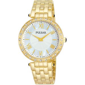 Pulsar PM2106X Stone Set Womens Watch