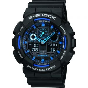 Casio GA100-1A2 G-Shock Mens Watch