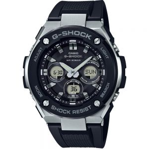 Casio G-Shock GSTS300-1A 200m Black and Stainless Steel Mens Watch