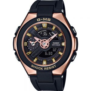 Baby G MSG400G-1A1 Black And Rose Ladies Watch