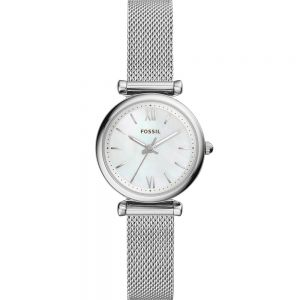 Fossil Carlie Mini ES4432 Silver Stainless Steel Womens Watch