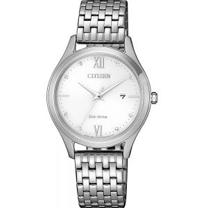 Citizen EW2530-87A Silver Stainless Steel Womens Watch