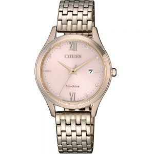 Citizen EW2533-89X Gold Stainless Steel Womens Watch