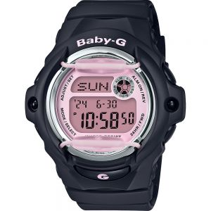 Baby-G BG169M-1D Black Resin Womens Watch