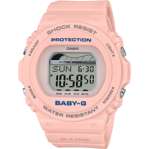Baby-G BLX-570-4DR Pink Resin Womens Watch