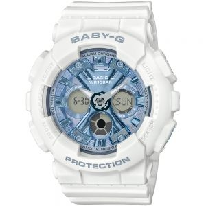 Casio Baby-G BA-130-7A2DR White Resin Womens Watch
