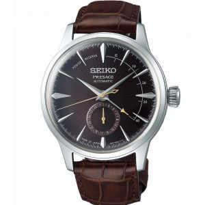 Seiko Presage SSA393J Cocktail Time Leather Mens Watch