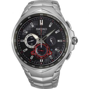 Seiko Coutura SSC743P-9 Silver Stainless Steel Mens Watch