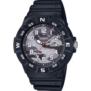 Casio MRW220HCM-1B Black Resin Youth Watch