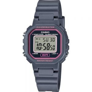Casio LA20WH-8A Grey Resin Kids Watch