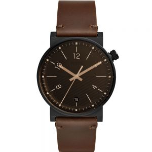 Fossil Barstow FS5552 Brown Leather Mens Watch