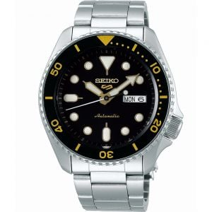 Seiko 5 SRPD57K Automatic Stainless Steel Mens Watch