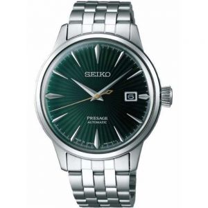 Seiko Presage SRPE15J  Cocktail Time Automatic Stainless Steel Mens Watch