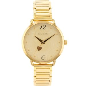 Ellis & Co 'Milana' Gold Tone Womens Watch