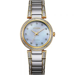 Citizen Eco-Drive Two Tone EM0844-58D Womens Watch