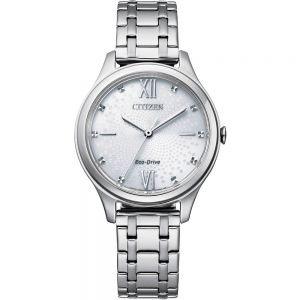 Citizen Eco-Drive Silver EM0500-73A Womens Watch