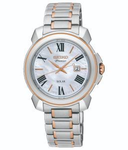 Seiko SUT322P-9 Mother of Pearl Dial Womens Watch
