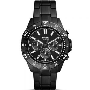Fossil Garrett FS5773 Chronograph Black Mens Watch