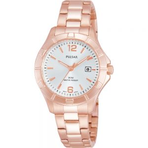 Pulsar PH7388X Rose Tone Womens Watch