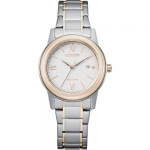 Citizen Eco Drive  FE1226-82A Two Tone Womens Watch