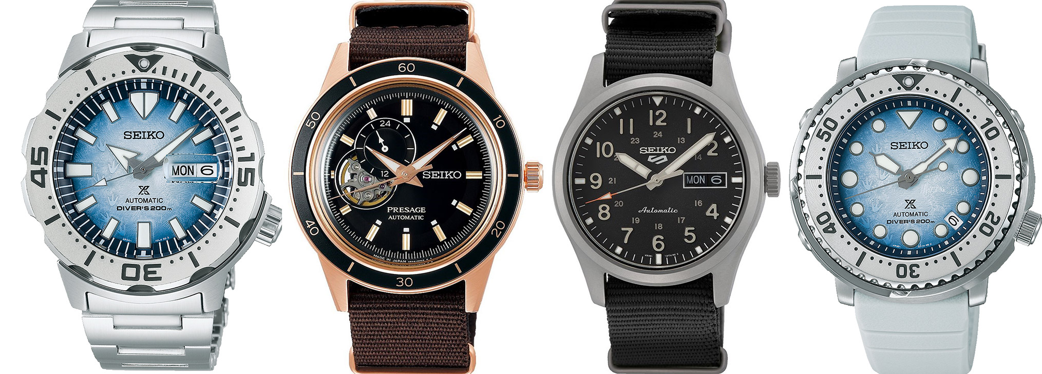 a collection of the best seiko new releases 2021